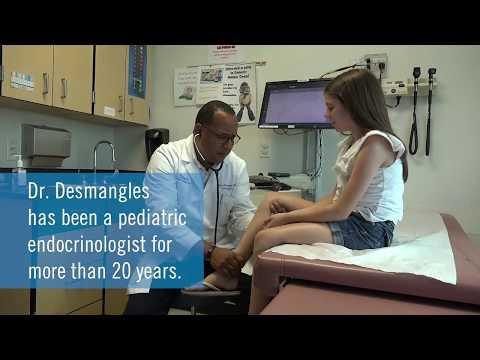 Dr. Jean-Claude Desmangles — Nemours Endocrinologist In Pensacola