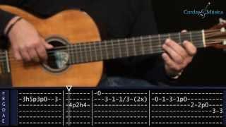 Toni Braxton - Spanish Guitar - Aula de Violão - Cordas e Música