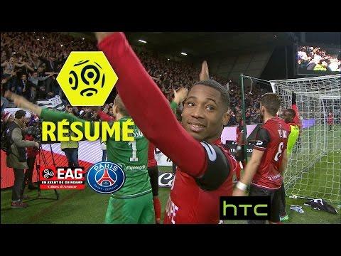 EA Guingamp - Paris Saint-Germain (2-1)  - Résumé - (EAG - PARIS) / 2016-17