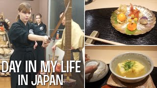 DAY IN MY LIFE: Japanese Swordsmanship (Iaido) and Vegetarian Japanese Food!