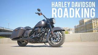Harley Davidson Road King Special 2017 МОТОЗОНА 20 смотреть