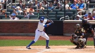 Mets Curtis Granderson Batting Vs Pirates 5/26/14 HD