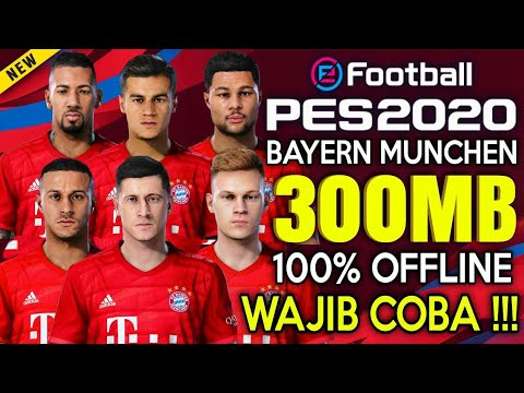 NEW !!! Pes 2020 Bayern Munchen Edition Dream League Soccer Offline New Munich Kits & Transfer 2019 - 동영상