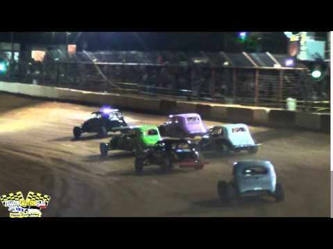 MISSISSIPPI STREET STOCKS INVADE FLOMATON SPEEDWAY FOR THIS INAUGURAL EVENT 4/19/14 PART 1