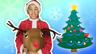 O Christmas Tree 🎄 | KIDS CLASSIC HOLIDAY SONGS | Mother Goose Club Playhouse Kids Video