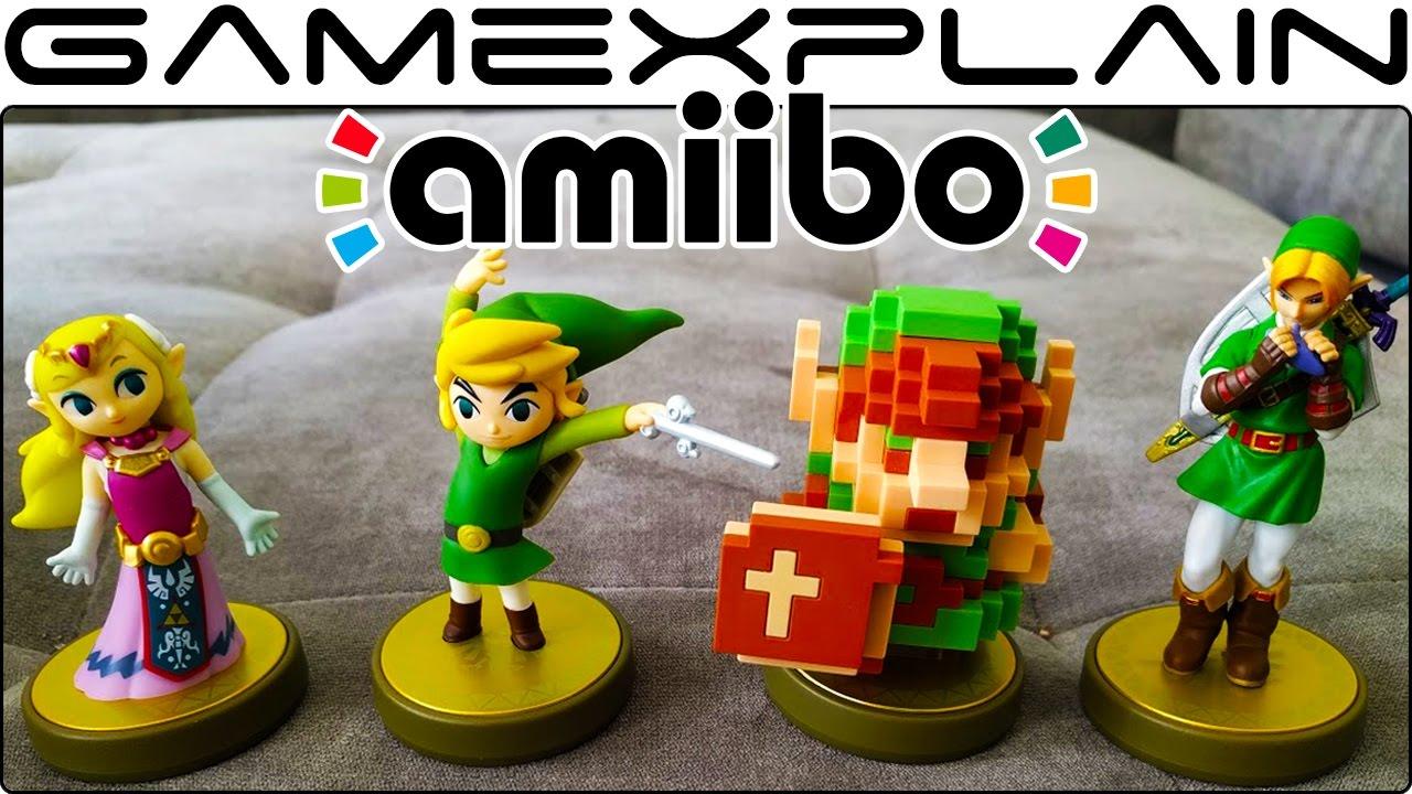 Zelda th anniversary amiibo unboxing bit ocarina of time