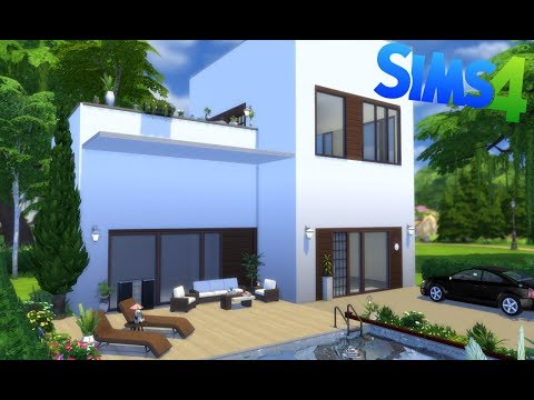 petite villa moderne cr ation sims4 speed building fr