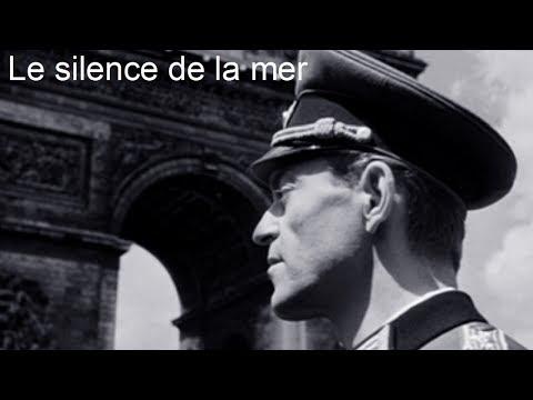 Le silence de la mer 1949 -  Film réalisé par Jean Pierre Melville d'après le roman de Vercors