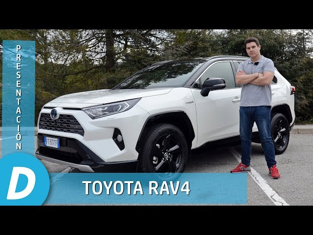 Toyota RAV4  2019 | Primera prueba | Review en español | Diariomotor