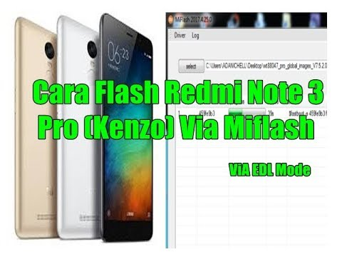 cara-flash-redmi-note-3-pro-(kenzo)-via-miflash