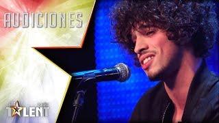 Un John Legend... ¡con el look de Jimmy Hendrix! | Audiciones 3 | Got Talent España 2017