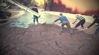 видео Бетон для поселка Парголово.