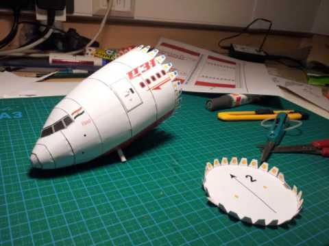 Papercraft 「Air India Boeing 777-300ER paper model」的複本