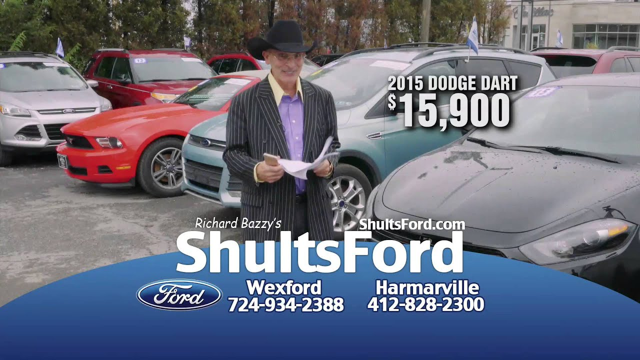 Shults Ford Harmarville Used Cars