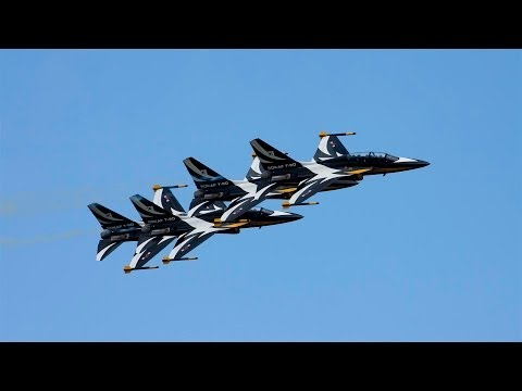 The Fantastic Black Eagles Aerobatic Team Airshow World