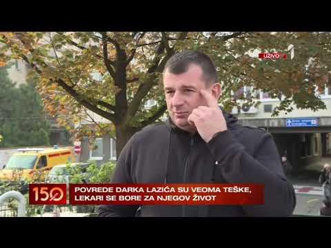 Teško povređen Darko Lazić!