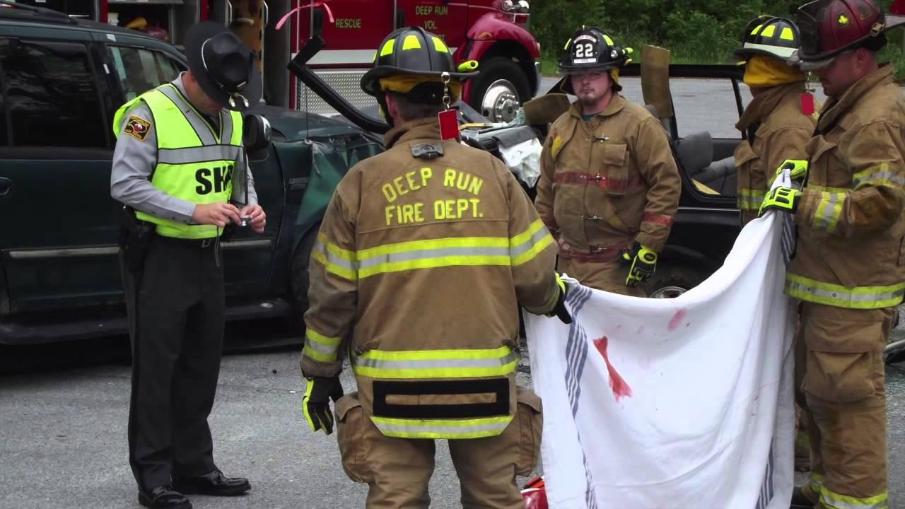 south lenoir high school ems class 2014 mock wreck
