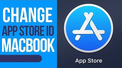 How to change App Store ID on MacBook | MacBook Pro | MacBook Air