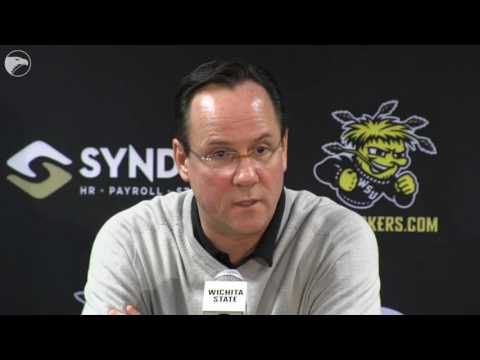 Gregg Marshall reacts to Wichita State receiving a 10-seed in tournament