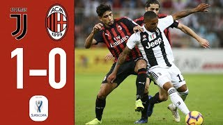 Highlights Juventus 1-0 AC Milan - Italian SuperCup Final 2018