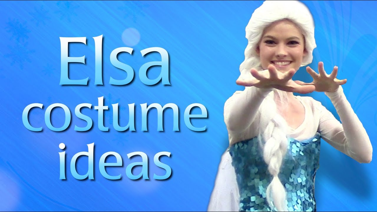 sc 1 st  YouTube & Make your own Queen Elsa from Frozen - Cosplay Costume Ideas - YouTube