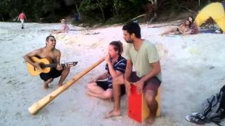 Byron Bay Flamenco Didgeridoo Jam