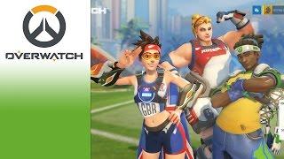 Cùng chơi Overwatch - Summer Cup Lucio Football - Đá Bóng Mini