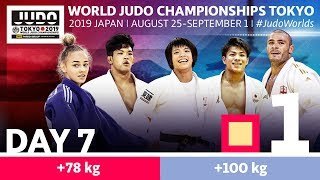 World Judo Championships 2019: Day 7 - Elimination