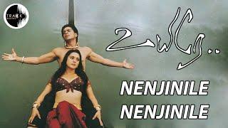 Nenjinile Nenjinile | Uyire | Shahrukh khan| AR Rahman | Mani Ratnam | Track Musics India