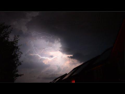 Electrical Lightning Storm over Harrogate - North Yorkshire