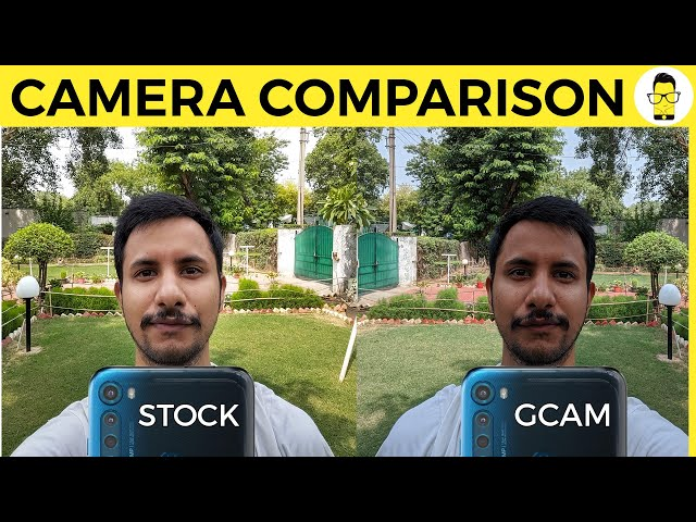 Moto One Fusion Plus GCam vs Stock camera app | Incredible results!