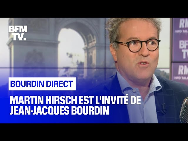 Martin Hirsch face à Jean-Jacques Bourdin en direct