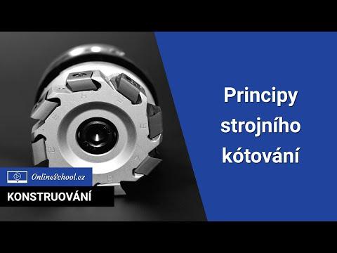 Principy strojního kótování | 3/3 Zobrazování | Konstruování | Onlineschool.cz