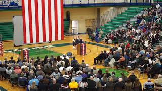 Glacier High School's 2018 Veterans Day Assembly | Keynote Speaker Dr. Al Olszewski