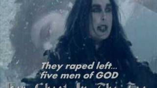 Cradle of filth her ghost in the fog lyrics