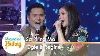 Magandang Buhay: Ogie and Regine's touching duet of 'Sa Piling Mo'