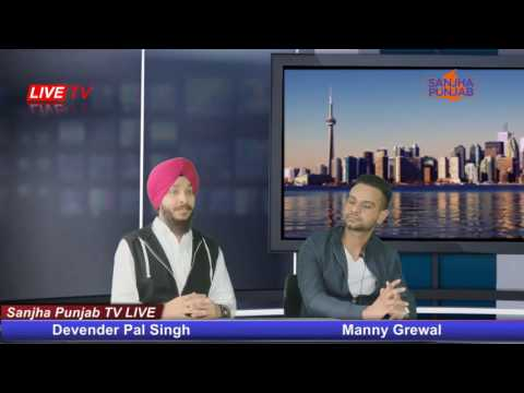 Live Interview- Manny Grewal with Indian...