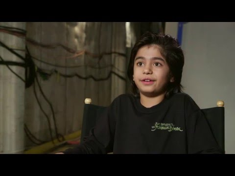 """The Jungle Book Behind The Scenes """"Mowgli"""" Interview - Neel Sethi"""