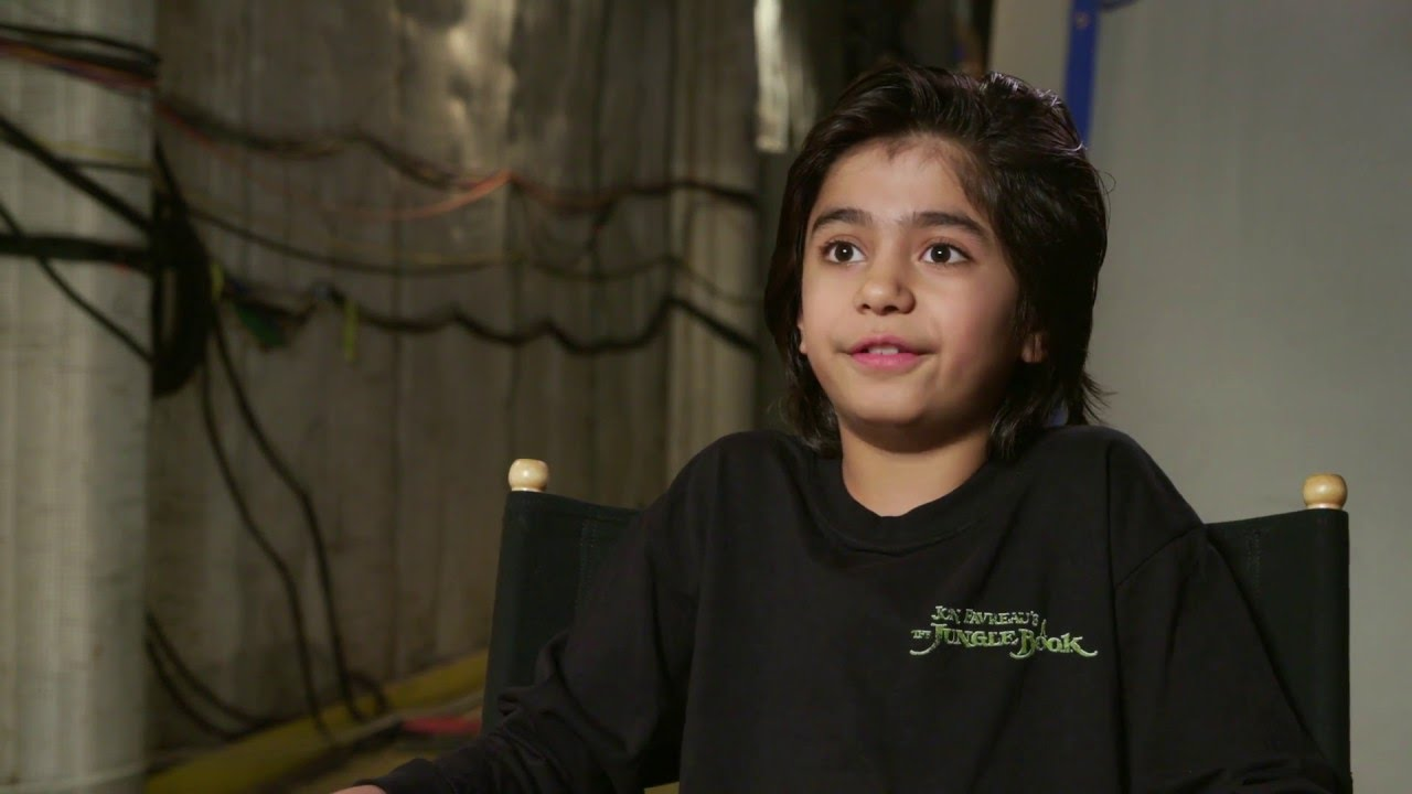 The jungle book behind the scenes mowgli interview neel sethi youtube