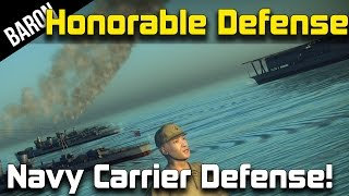 War Thunder Navy Carrier Honorable Japanese Defense! w/PhlyDaily