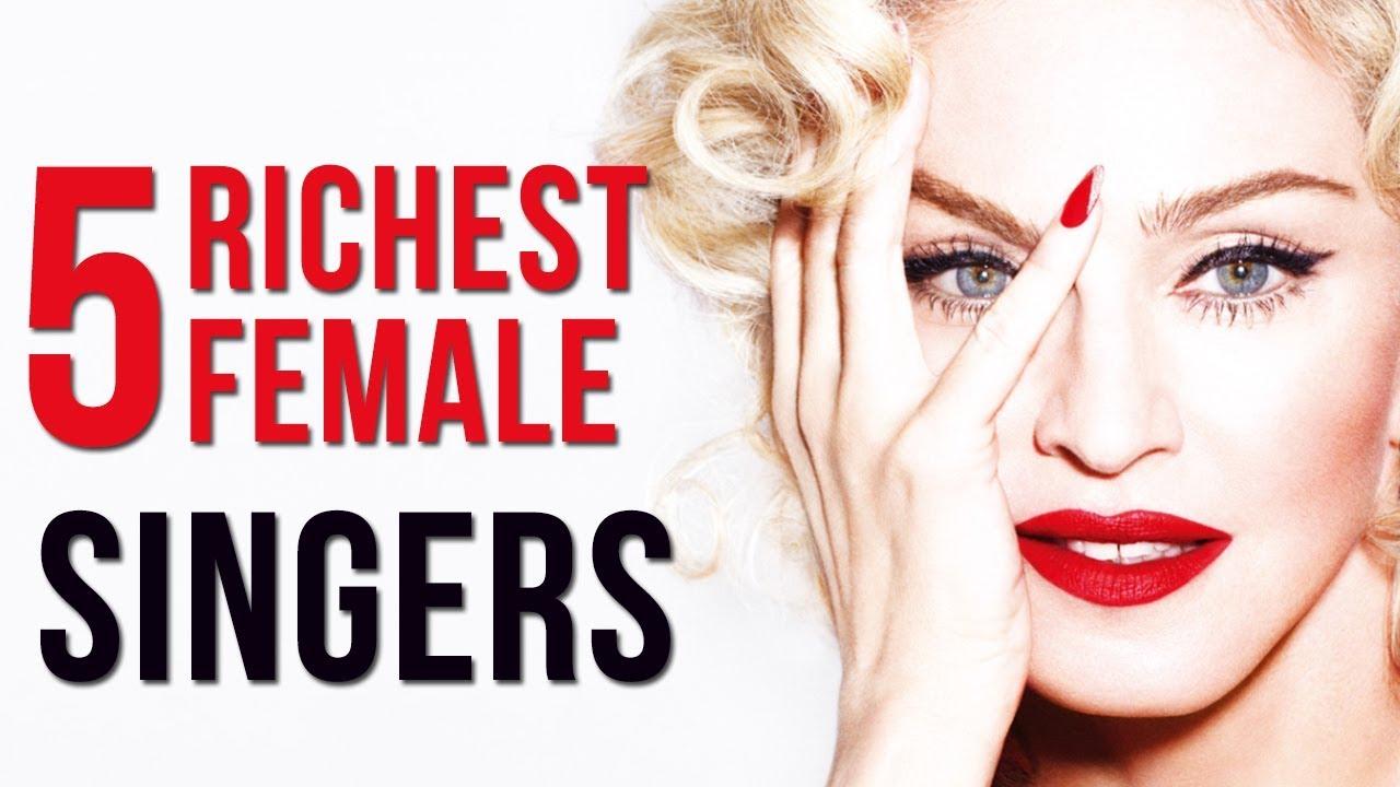 5 Richest Female Singers In 2018 & Their Net Worth ...