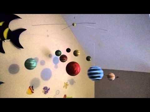 Pottery Barn Solar System Mobile - YouTube