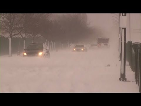 Wave of artic cold sweeps through parts of the US
