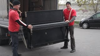 видео перевозка пианино