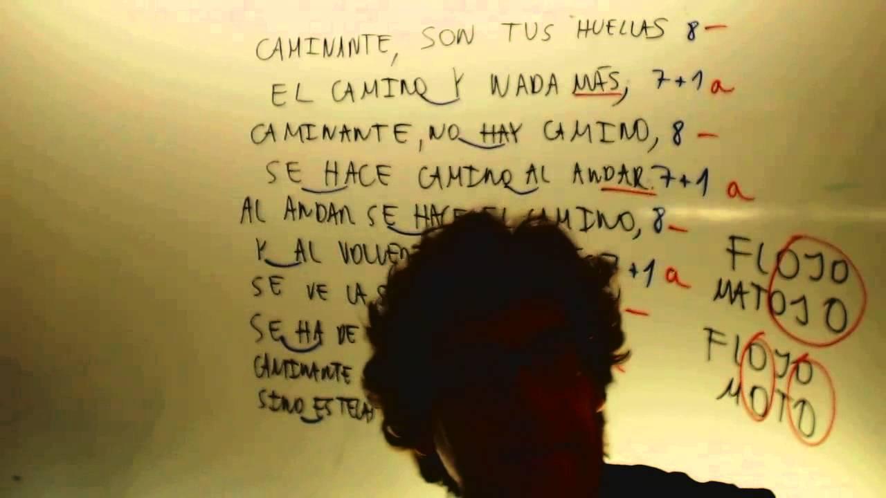 Caminante No Hay Camino Machado Lengua 2 Eso Academia Usero Estepona