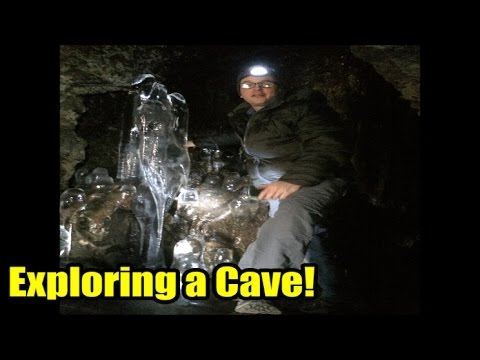 Exploring the Sunderland Cave