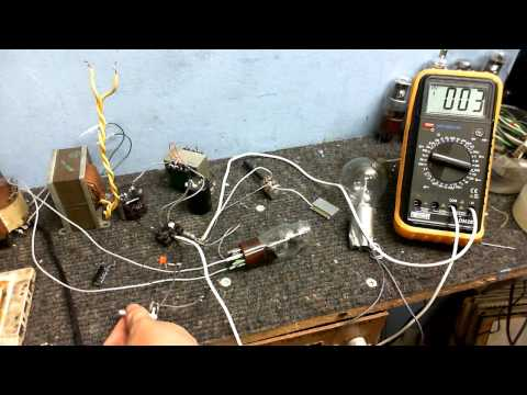 Building a simple Valve Amplifier