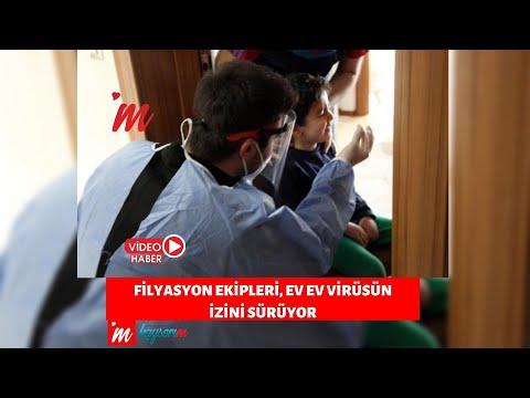 Filyasyon ekipleri, ev ev virüsün izini sürüyor