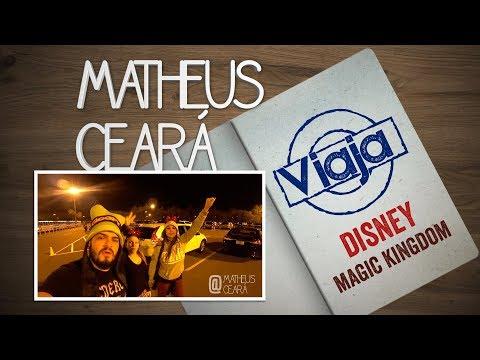 MATHEUS CEARÁ VIAJA - O DIA QUE EU FUI PRA DISNEY - MAGIC KINGDOM