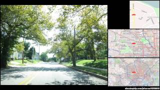 Ellamont Rd (Baltimore, MD) to Delrey Ave (Maryland)